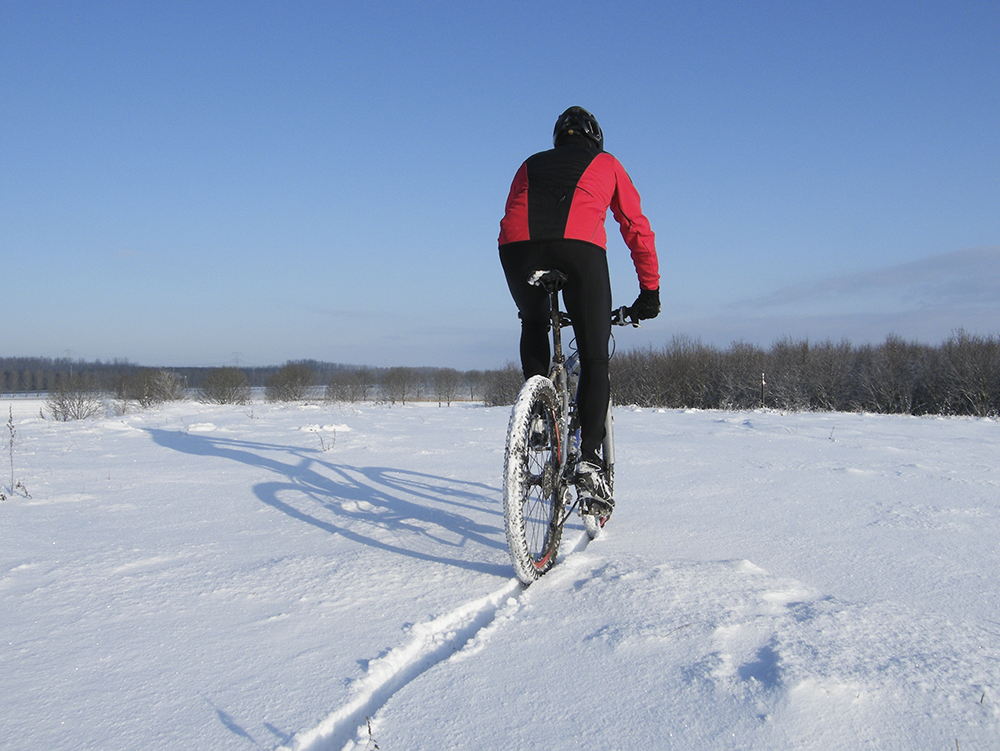 cycling in winter conditions