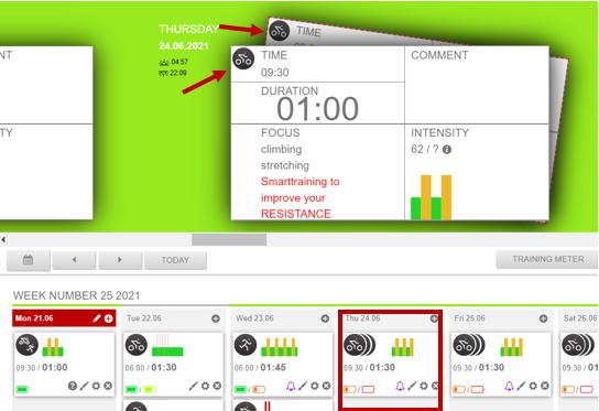 smart training web